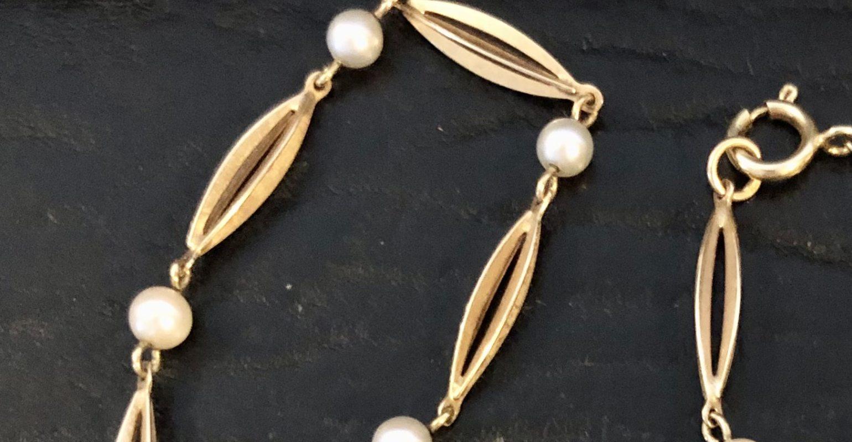 By Birdie Sølv ring med guld og 2 x 0,20 ct. Str. 53.